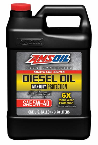 Amsoil - AMSOIL   SIGNATURE SERIES MAX-DUTY SYNTHETIC DIESEL OIL   3 GALLON OIL KIT