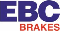 EBC Brakes - EBC Brakes GD sport rotors, wide slots for cooling to reduce temps preventing brake fade. S3KF1101