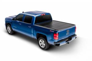 Bed Accessories - Tonneau Covers - Undercover - Undercover Flex 07-13 Silv/Sierra 1500/07-14 2500HD 6.5ft w/out CMS w/ Bed Rail Caps FX11009