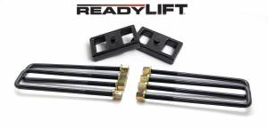 Steering And Suspension - Springs - ReadyLift - ReadyLift 2011-18 CHEV/GMC 2500/3500HD 1'' Rear Block Kit 66-3111