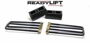 Steering And Suspension - Springs - ReadyLift - ReadyLift 2011-18 CHEV/GMC 2500/3500HD 2'' Rear Block Kit 66-3112