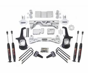 Steering And Suspension - Lift & Leveling Kits - ReadyLift - ReadyLift 2011-18 CHEV/GMC 2500/3500HD 5-6'' Lift Kit with SST3000 Shocks 44-3050