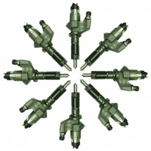 BD Diesel - BD Diesel BD Duramax LB7 Stock Performance Plus Injector Set (0986435502) Chevy 2001-2004 1074502