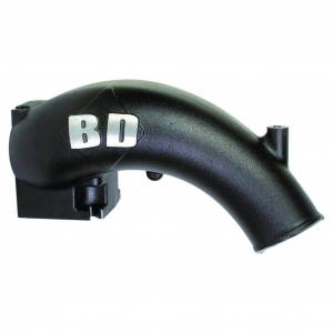 Engine Parts - Parts & Accessories - BD Diesel - BD Diesel X-Flow Power Intake Elbow (Black) - Dodge 2003-2007 5.9L 1041555