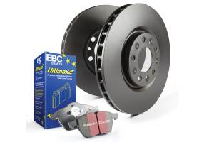2007.5-Current Dodge 6.7L 24V Cummins - Brakes - EBC Brakes - EBC Brakes Premium disc pads designed to meet or exceed the performance of any OEM Pad. S1KF1082