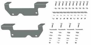 Towing - Trailer Accessories - B&W Trailer Hitches - B&W Trailer Hitches Custom Installation Kit For Universal Mounting Rails For Some Ford Trucks RVR2403