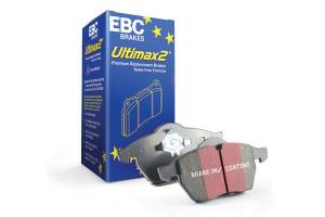 EBC Brakes Premium disc pads designed to meet or exceed the performance of any OEM Pad. UD1334