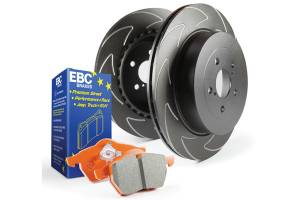 2003-2007 Ford 6.0L Powerstroke - Brakes - EBC Brakes - EBC Brakes High performance pad with high friction levels yet still durable for street use. S7KF1033