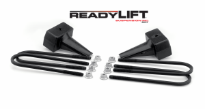 Steering And Suspension - Springs - ReadyLift - ReadyLift 1999-10 FORD F250/F350/F450 4'' Rear Block Kit 66-2094