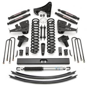 Steering And Suspension - Lift & Leveling Kits - ReadyLift - ReadyLift 2011-2018 FORD F250/F350 8.0'' Lift Kit with SST3000 Shocks-1 Piece Drive Shaft 49-2780
