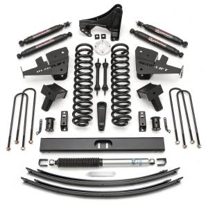 Steering And Suspension - Lift & Leveling Kits - ReadyLift - ReadyLift 2011-2018 FORD F250/F350 8.0'' Lift Kit with SST3000 Shocks-2 Piece Drive Shaft 49-2781