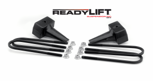 Steering And Suspension - Springs - ReadyLift - ReadyLift 2011-18 FORD F250/F350/F450 5'' Rear Block Kit 66-2015