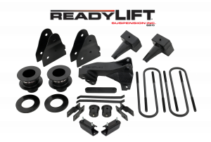 Steering And Suspension - Lift & Leveling Kits - ReadyLift - ReadyLift 2011-16 FORD F250 2.5'' SST Lift Kit with 4'' Rear Blocks - 1 pc Drive Shaft 69-2524