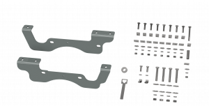 Towing - Trailer Accessories - B&W Trailer Hitches - B&W Trailer Hitches Custom Installation Kit For Universal Mounting Rails For Some Ford Trucks RVR2402
