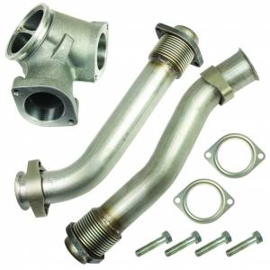 Turbo Chargers & Components - Intercoolers and Pipes - BD Diesel - BD Diesel BD 7.3L Powerstroke UpPipes Kit Ford 1999.5-2003 1043900
