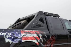 Exterior - Accessories - Addictive Desert Designs - ADDICTIVE DESERT DESIGNS | HONEYBADGER CHASE RACK ROOF RACK FORD 99-16 F250/350 C095511460301
