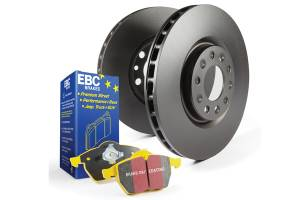 1994-1997 Ford 7.3L Powerstroke - Brakes - EBC Brakes - EBC Brakes OE Quality replacement rotors, same spec as original parts using G3000 Grey iron S13KF1254
