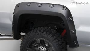 Exterior - Fender Flares - Bushwacker - Bushwacker FF Boss Pocket Style 2Pc Rear 40118-02