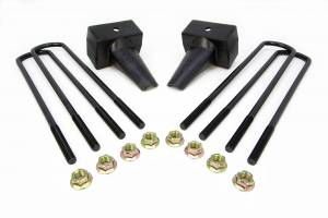 Steering And Suspension - Springs - ReadyLift - ReadyLift 2011-18 CHEV/GMC 2500/3500HD 4'' Rear Block Kit 26-3204