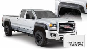 Exterior - Fender Flares - Bushwacker - Bushwacker FF Boss Pocket Style-Color 4Pc 40968-14