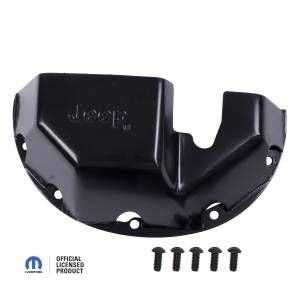 Exterior - Skid Plates - Rugged Ridge - Rugged Ridge Skid Plate, Differential, Jeep logo, for Dana 35 DMC-16597.35