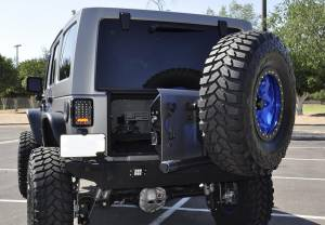 Exterior - Accessories - Addictive Desert Designs - Addictive Desert Designs Rear Gate Tire Holder T95912NA01NA