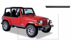 Exterior - Accessories - Bushwacker - Bushwacker Jeep Trail Armor Side Rocker 14002