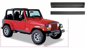Exterior - Accessories - Bushwacker - Bushwacker Jeep Trail Armor Front & Rear 14003