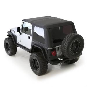 Exterior - Accessories - Smittybilt - Smittybilt Bowless Combo Top w/Tinted Windows 9973235