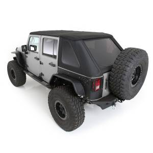 Exterior - Accessories - Smittybilt - Smittybilt Bowless Combo Top w/Tinted Windows 9083235