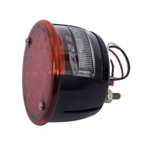 Lighting - Brake Lights - Rugged Ridge - Rugged Ridge Tail Light Assembly, Left, LED; 46-75 Willys/Jeep CJ 12403.81