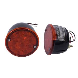 Lighting - Brake Lights - Rugged Ridge - Rugged Ridge Tail Light Kit, LED; 46-75 Willys/Jeep CJ 12403.84