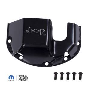 Exterior - Skid Plates - Rugged Ridge - Rugged Ridge Skid Plate, Differential, Jeep logo, for Dana 30 DMC-16597.30