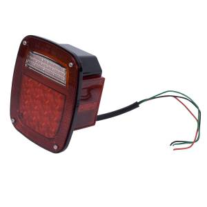 Lighting - Brake Lights - Rugged Ridge - Rugged Ridge Tail Light Assembly, Right, LED; 76-06 Jeep CJ/Wrangler YJ/TJ 12403.82
