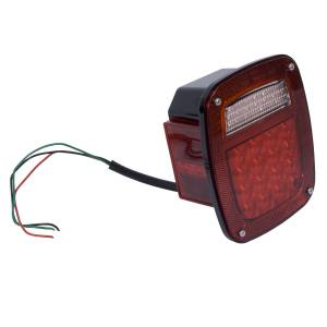 Lighting - Brake Lights - Rugged Ridge - Rugged Ridge Tail Light Assembly, Left, LED; 76-06 Jeep CJ/Wrangler YJ/TJ 12403.83