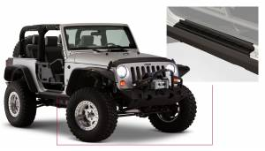Exterior - Accessories - Bushwacker - Bushwacker Jeep Trail Armor Side Rocker 14011