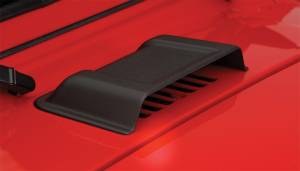Exterior - Hood Scoops - Bushwacker - Bushwacker Jeep Trail Armor Hood Scoop 15002