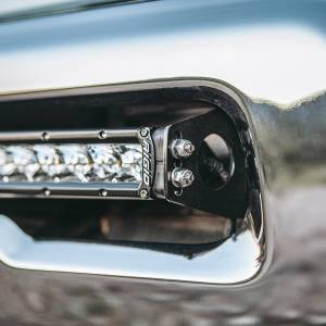 "Shop by Part - RIGID Industries - RIGID Industries 2010-2019 RAM 2500/3500 Bumper Mount fits RIGID 20"" or 40"" LED light bar. 41670"