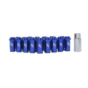 Shop by Part - Mishimoto - Mishimoto Mishimoto Aluminum Locking Lug Nuts, M12 x 1.25 MMLG-125-LOCKBL