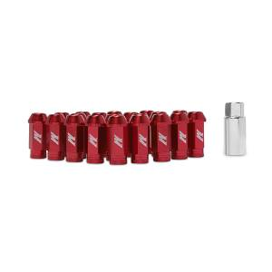 Shop by Part - Mishimoto - Mishimoto Mishimoto Aluminum Locking Lug Nuts, M12 x 1.25 MMLG-125-LOCKRD