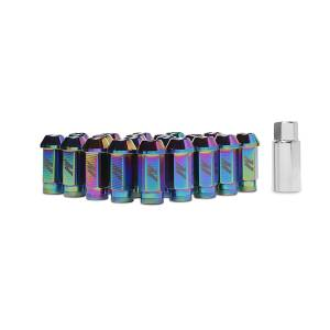 Shop by Part - Mishimoto - Mishimoto Mishimoto Aluminum Locking Lug Nuts, M12 x 1.25 MMLG-125-LOCKNC