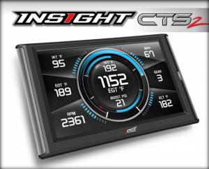 1998.5-2002 Dodge 5.9L 24V Cummins - Gauges & Pods - Edge Products - EDGE PRODUCTS |  96-PRESENT INSIGHT CTS2 MONITOR