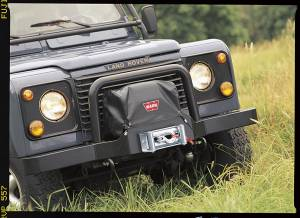 Winches and Accessories - Accessories - Warn - Warn 9.5ti and XD9000i on Trans4mer Combo Multi-Mount and Flatbed Nylon-Backed Vinyl 13917