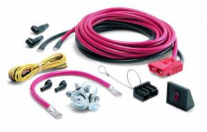 Winches and Accessories - Accessories - Warn - Warn Rear Mounting of Portable Winch 20 Ft Power Lead and Power Interrupt Kit 32963
