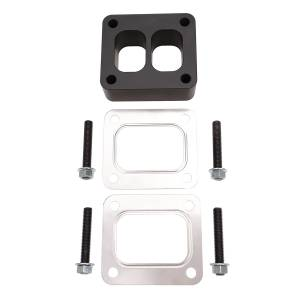 Wehrli Custom Fab | T4 Spacer Plate Kit 1.5 Inch with Studs and Gaskets Black | WCF100358