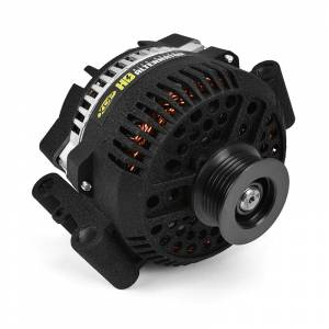 Electrical - Charging System - XDP Xtreme Diesel Performance - XDP Xtreme Diesel Performance | Wrinkle Black HD High Output Alternator 1994-1997 Ford 7.3L Powerstroke XD357 | XD357
