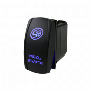 Exhaust - Diesel Particulate Filters - S&B - S&B | LED Rocker Switch with S&B Logo for Particle Separator | HP1432-00