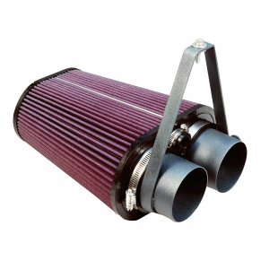 S&B | Cold Air Intake For 88-95 Bronco/F-150/F-250/F-350 Red Oiled Filter | 75-2503