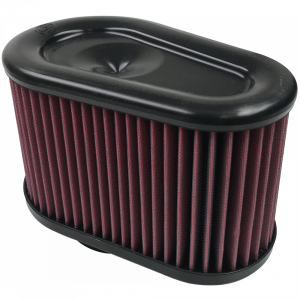 Air Intakes & Accessories - Air Filters - S&B - S&B | Air Filter For Intake Kits 75-5070 Oiled Cotton Cleanable Red | KF-1039