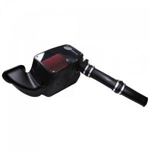 Gas Vehicles - Ram - S&B - S&B | Cold Air Intake For 14-18 Dodge Ram 1500 3.0L EcoDiesel V6 Cotton Cleanable Red | 75-5074